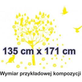 Naklejka dekoracyjna - SF 02a drzewo
