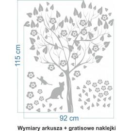 Naklejka dekoracyjna - SF 03a drzewo
