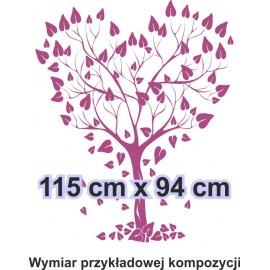 Naklejka dekoracyjna - SF 04a drzewo