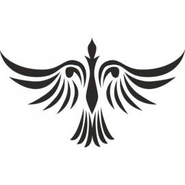 Naklejka ścienna, na ścianę, dekoracyjna N97 ptak O