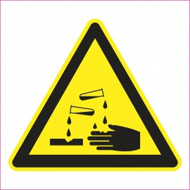 UK04 Ostrzeżenie przed substancjami żrącymi