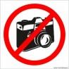 naklejka zakaz fotografowania