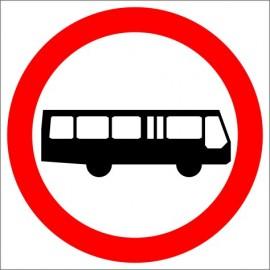 B-3a Zakaz wjazdu autobusów